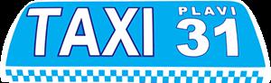Plavi Taxi Dubrovnik sign